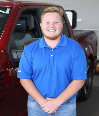 Sales Avery Sirmans in Staff at Shottenkirk Ford Jasper