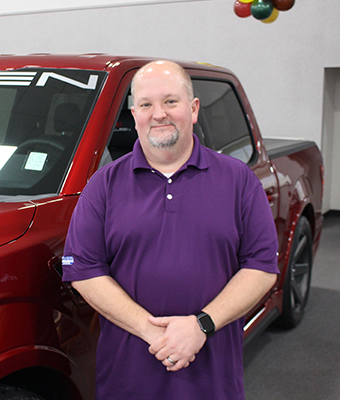 Parts Counterperson Kevin Boswell in Staff at Shottenkirk Ford Jasper
