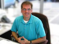 Sales Manager Justin Wickham in Staff at Mullane Motors
