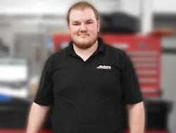 Auto Technician Matt Moore in Staff at Mullane Motors