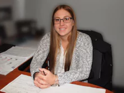 Customer Relations Manager Amber Demmin in Staff at Mullane Motors