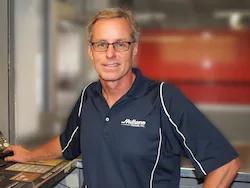 Parts Manager Dan Salmons in Staff at Mullane Motors