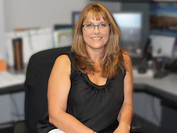 Office Manager Laurie Helfrich in Staff at Mullane Motors