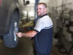 Auto Technician Steve Bauer in Staff at Mullane Motors