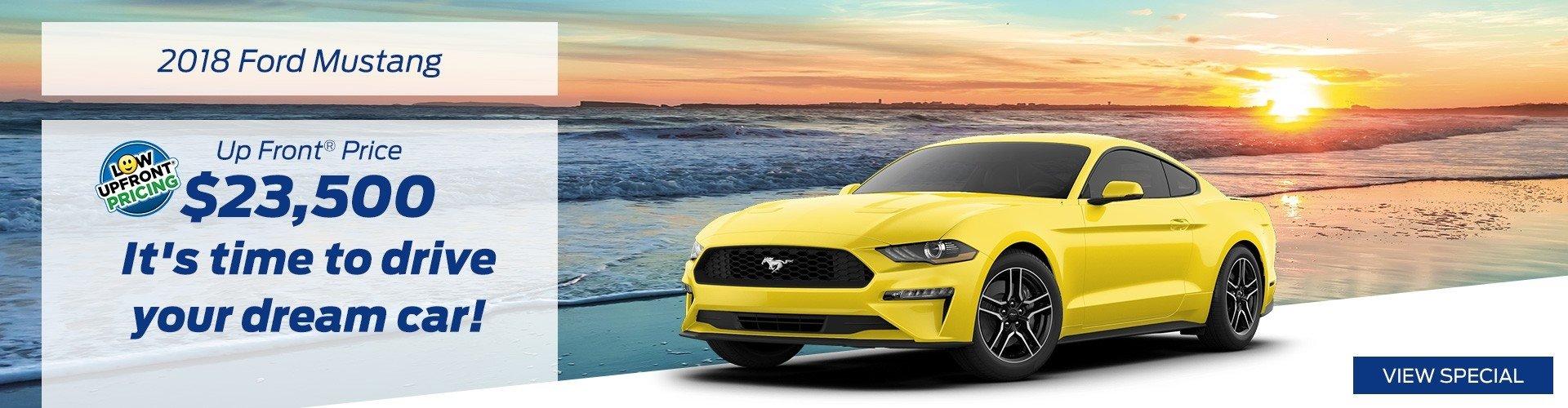 October 2018 Mustang Special