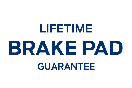 Coupon for Lifetime Brake Pad Guarantee