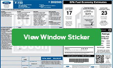 factory window sticker details
