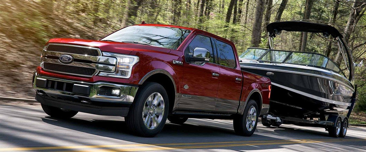 The New 2019 Ford F-150 header