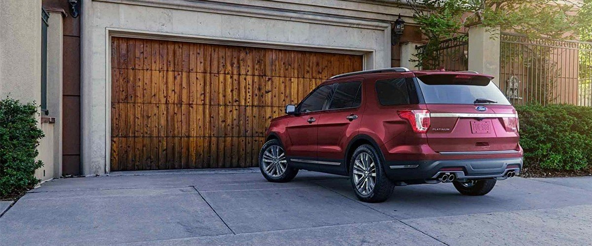 2019 Ford Explorer Footer