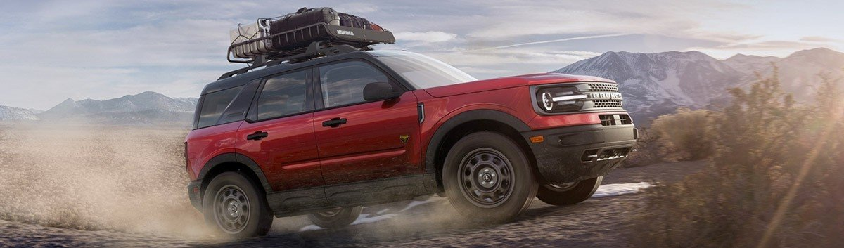 2021 Ford Bronco Sport spinning dirt