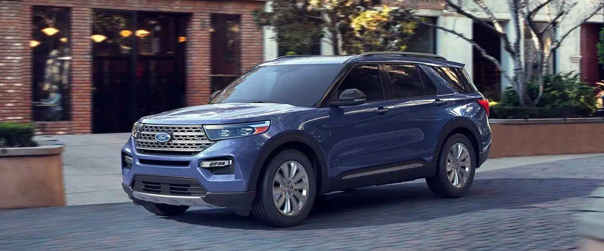 Ford Explorer Hybrid footer