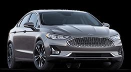 2019 Ford Fusion -- Silver