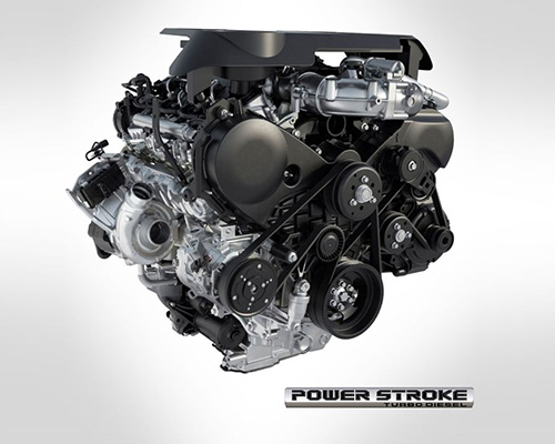 The New 3.0L Power Stroke® Turbo Diesel V6