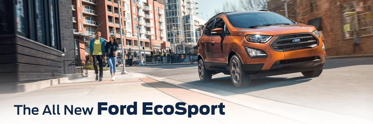 2018 Ford EcoSport in city street