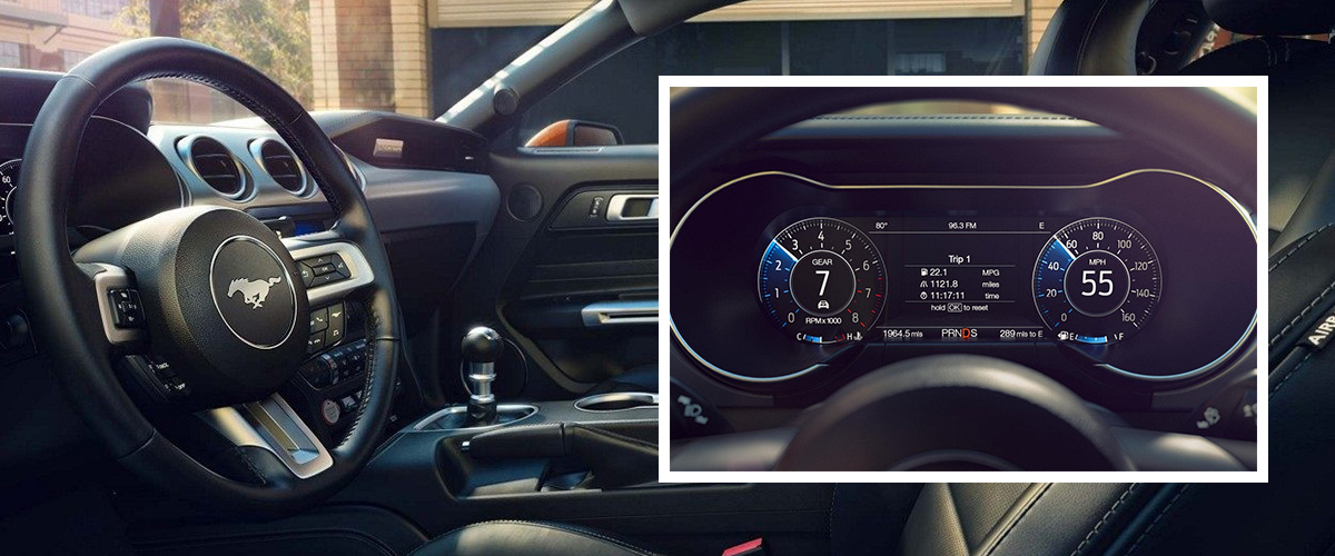 2018 Ford Mustang Interior Tech