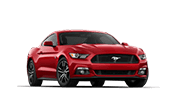 red ford mustang gt sports car for sale