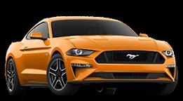 2019 Ford Mustang -- Orange