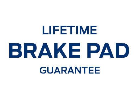 Coupon for Lifetime Brake Pad Guarantee