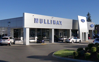 Mullinax ford olympia's ford parts area