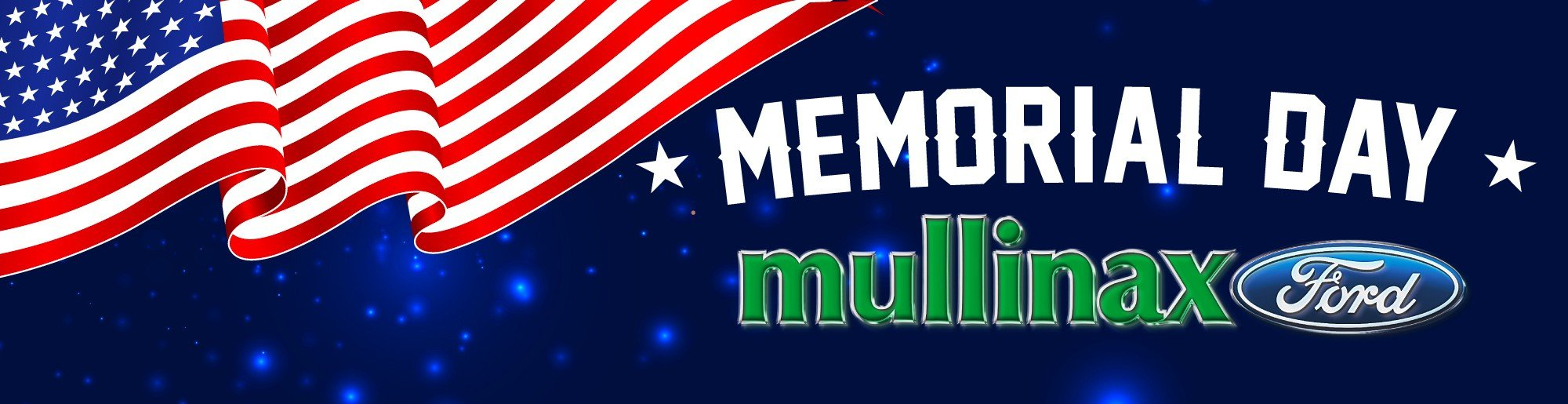 red white and blue memorial day mullinax ford page banner