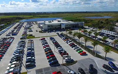 Mullinnax Ford in Kissimmee parts department