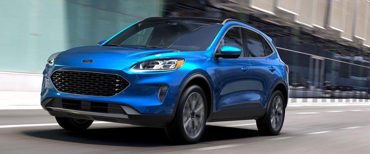 2020 Ford Escape header