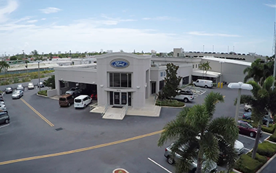 Mullinax ford in west palm beach parts department center