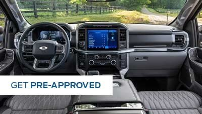 Get pre-approved at Gridley Country Ford