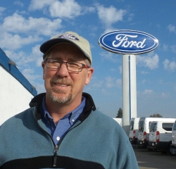 Service Advisor Dwight Callaway in Our Team at Gridley Country Ford