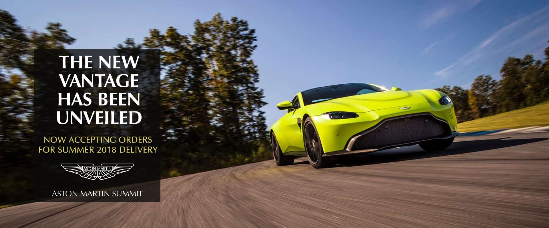 New vantage unveiled!