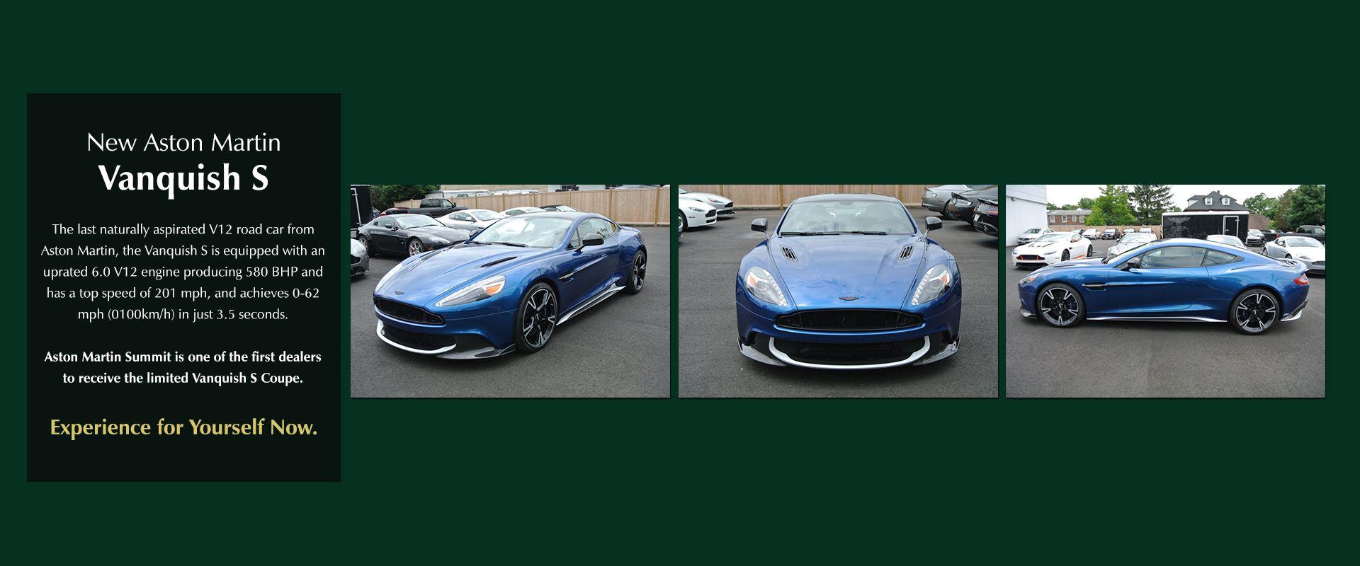 New Aston Martin Vanquish S