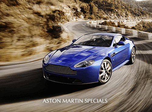 Check out all of our new Aston Martin specials