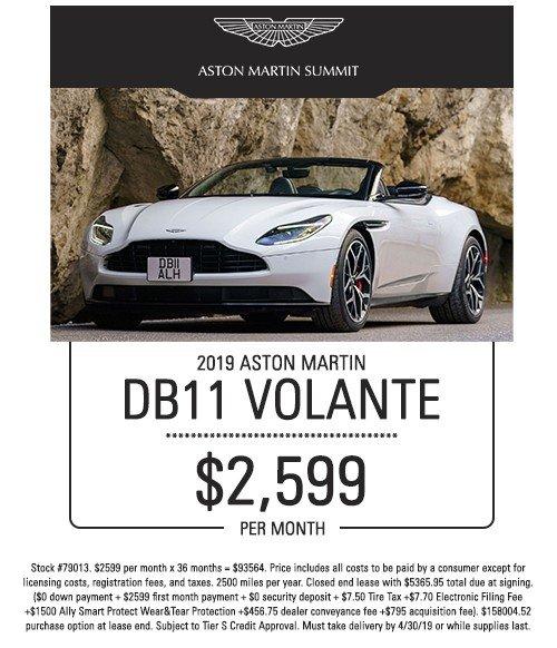 aston martin volante special