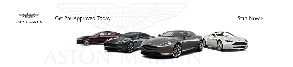 Auto financing on any new Aston Martin vehicle for sale