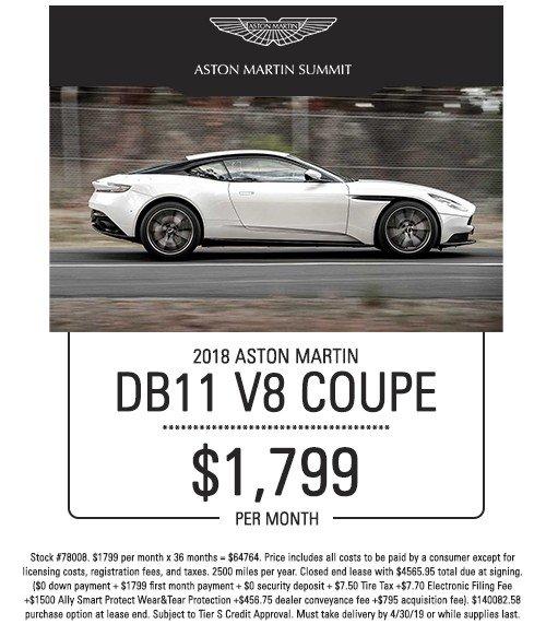 aston martin db11 special