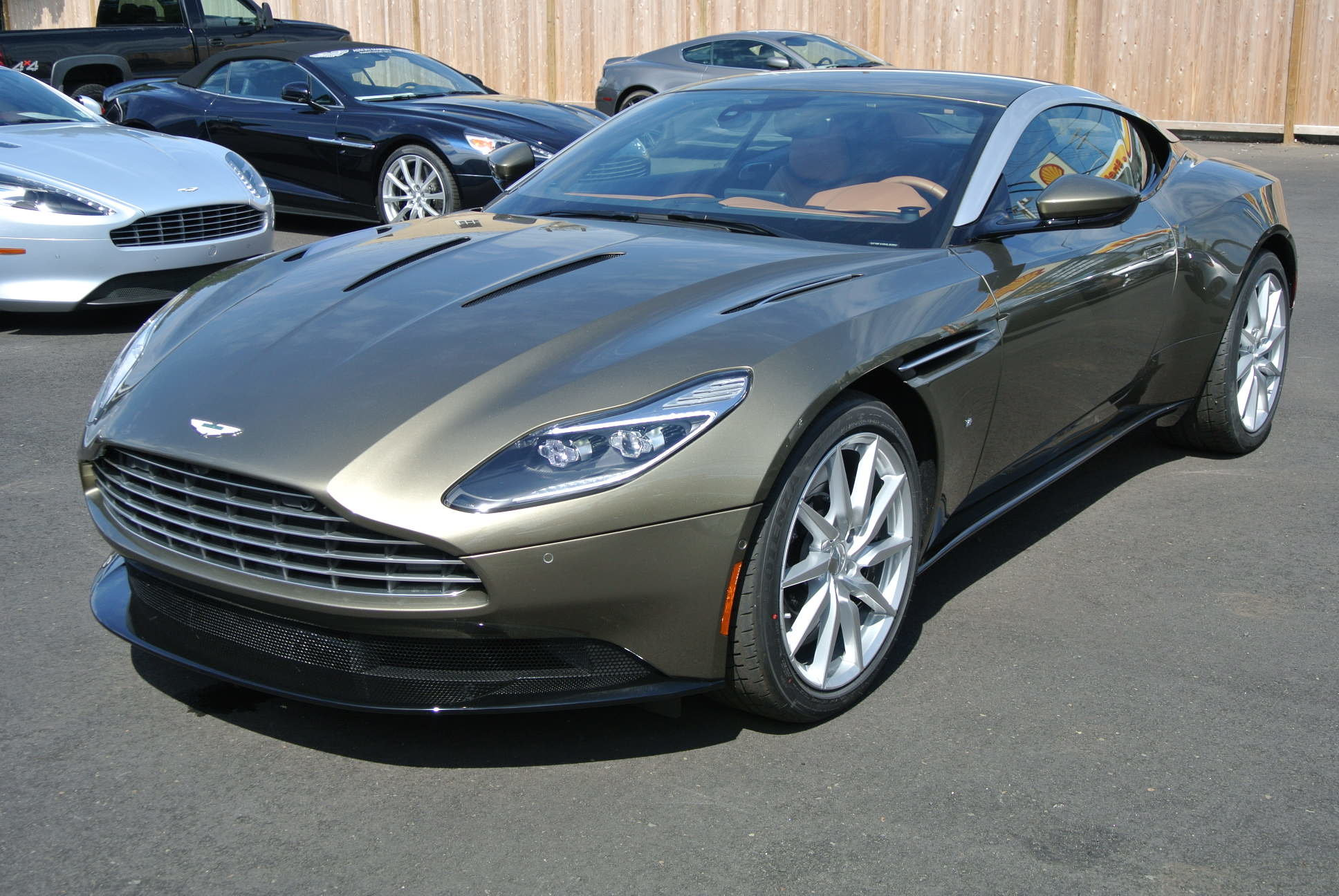 Special offer on 2017 Aston DB11 2017 Aston Martin DB11 V12 Coupe