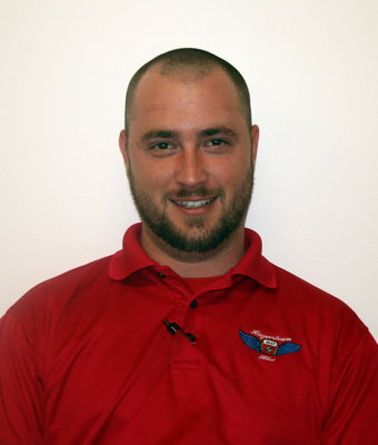 Assistant Service Manager Jay Delancey in Service at Hagerstown Ford