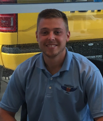 Equity Sales Manager Jared Breakall in Sales at Hagerstown Ford