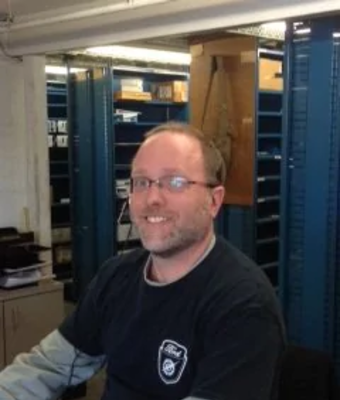 Parts Advisor Shawn Kelley in Parts at Hagerstown Ford