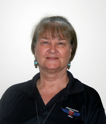 Receptionist/Warranty Administrator Velina Loyless in Office at Hagerstown Ford