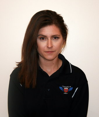 QuickLane Advisor Jillian Vodges in Service at Hagerstown Ford