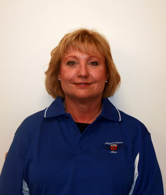 General Manager/Chief Financial Officer Judy Adams in Executive at Hagerstown Ford