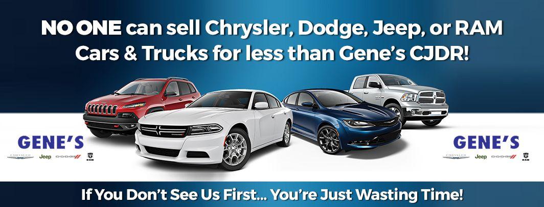 Chrysler, Dodge, Jeep or Ram Banner