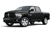 New black Ram 1500 pickup truck for sale in Fairbanks AK