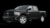 New black Ram 1500 pickup truck for sale in Fairbanks AK