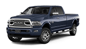 new Ram 2500 truck with 6.7 liter cummins turbo diesel