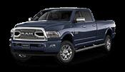 new Ram 2500 truck with 6.7 liter cummins turbo diesel