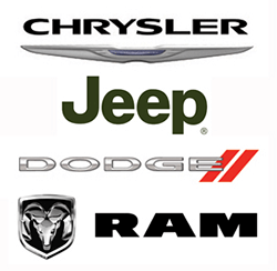 Chrysler Jeep Dodge Ram logos