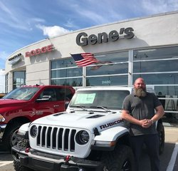 Sales Representative Ed Reuther in Sales at Gene's Chrysler Dodge Jeep RAM