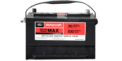 Coupon for Motorcraft® Tested Tough® Max Batteries $119.95